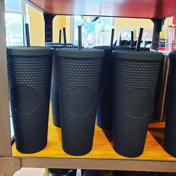 Starbucks Other - $96 black matte Starbucks cups limited addition